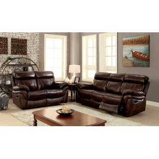 Caswell Reclining Configurable Living Room Set