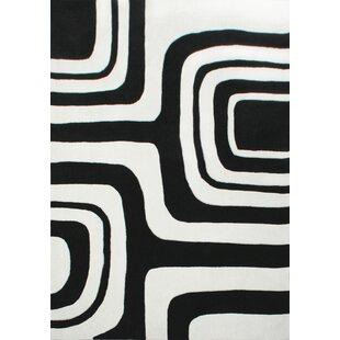 Big Save Mikel Hand-Tufted Gray/Black Area Rug ByOrren Ellis
