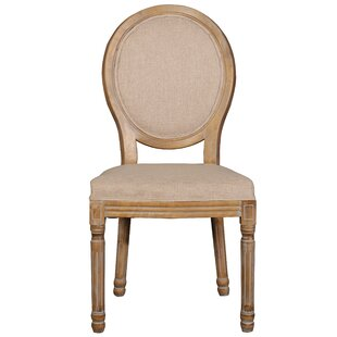 One Allium Way Florenza Vintage Upholstered Dining Chair (Set of 2)