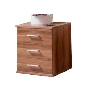 Nachttisch Arnaud mit 3 Schubladen von All Home