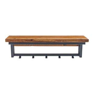 Vanna Wood Storage Bench By Blue Elephant