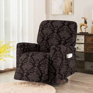 Elegant Box Cushion Recliner Slipcover By Winston Porter