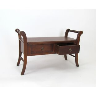 Brock Wood Storage Bench