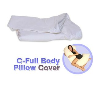 C-Shaped Full Body Pillow Protector