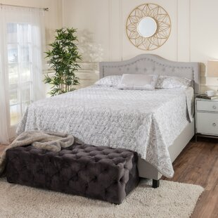 Auda Queen Upholstered Panel Bed by Willa Arlo Interiors