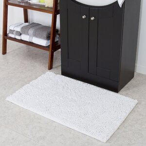 High Pile White Area Rug