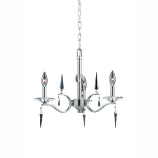 Mercer41 Laduke 3-Light Candle Style Chandelier