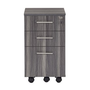 Medina Series 3-Drawer Mobile Vertical Filing Cabinet by Mayline Group