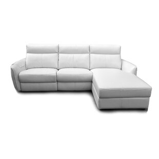 Shop Engles Reclining Sectional by Ebern Designs
