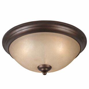 Darby Home Co Edgewater 3-Light Flush Mount