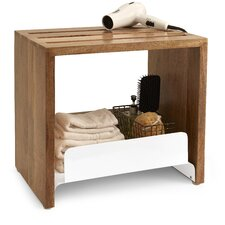 Driftwood 13.75 W x 18.25 H Bathroom Shelf by Paradigm Trends