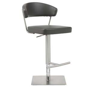 Harworth Adjustable Height Swivel Bar Stool