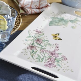 Butterfly Meadow Melamine Large Serving Tray
