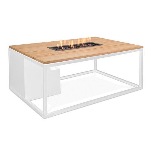 Tisch mit Feuerstelle Imala aus Aluminium Garten Living Farbe: Eiche/Weiß | Garten > Grill und Zubehör > Feürstellen | Garten Living