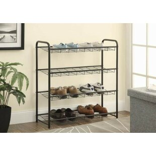 Online Reviews 8 Pair Shoe Rack By Symple Stuff