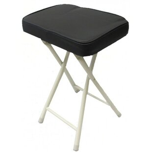 Padded Folding Camping Stool by Above Edge Inc.