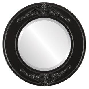 Astoria Grand Retiro Framed Round Accent Mirror