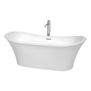 Bolera 71 inch  x 31.5 inch  Soaking Bathtub