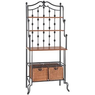 Red Barrel Studio East Iron Baker's Rack