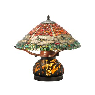 Top Reviews Dragonfly Polished Agata 16.5 Table Lamp By Meyda Tiffany