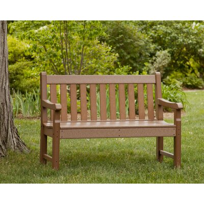 Incredible Polywood Rockford Plastic Garden Bench Color Sand Size 72 Inch Bralicious Painted Fabric Chair Ideas Braliciousco