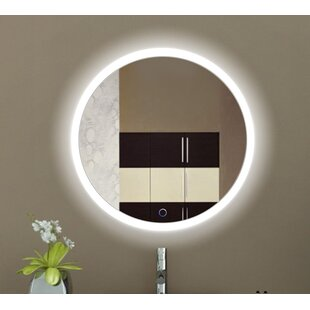 Find for Rieves LED Lighted Wall Mirror By Orren Ellis