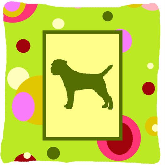 East Urban Home Border Terrier Indoor Outdoor Square Throw Pillow Wayfair