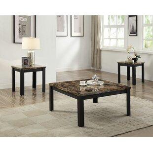 Fleur De Lis Living Lovisa 3 Piece Coffee Table Set