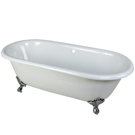 Kingston Brass Aqua Eden Soaking Bathtub Reviews Wayfair