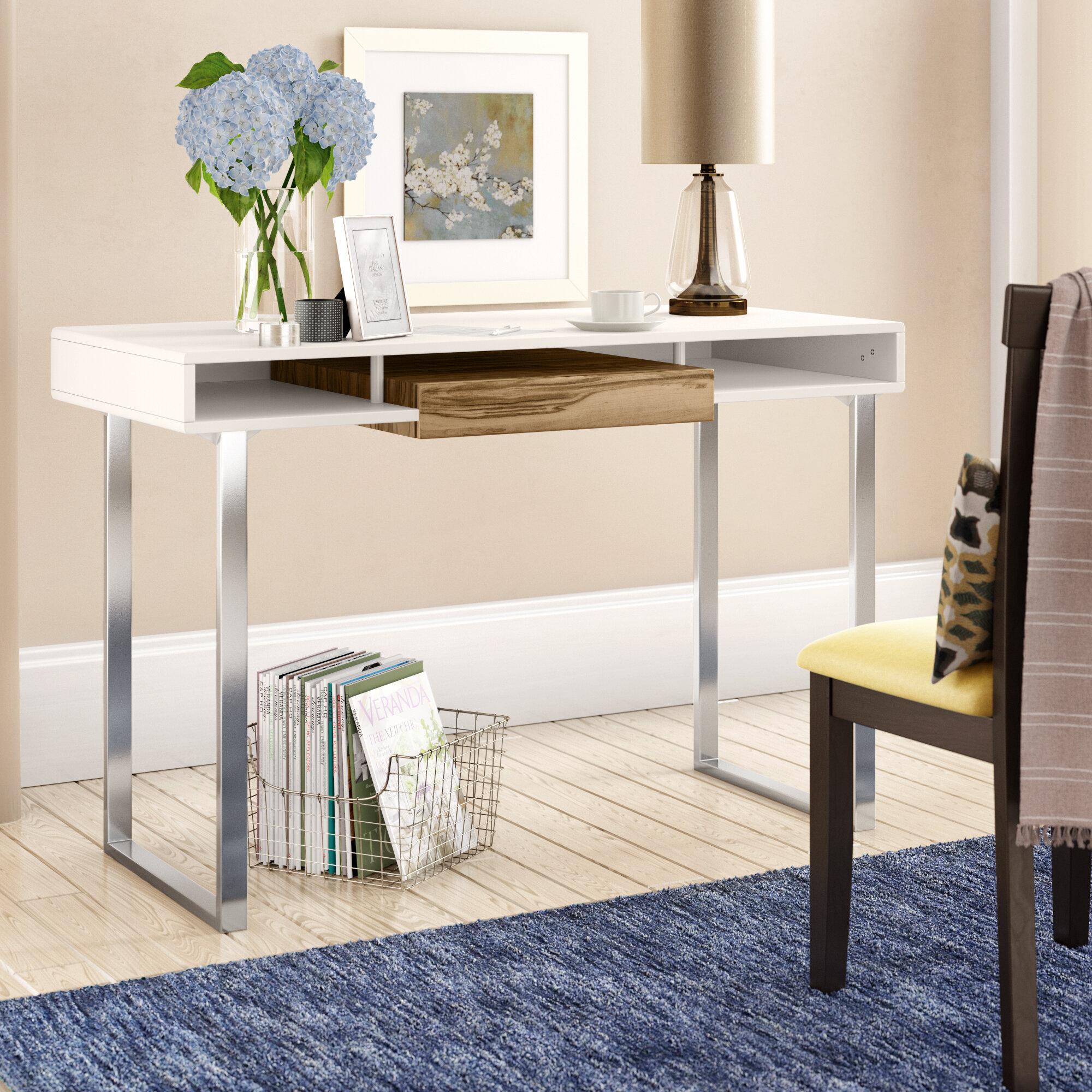 Style De Veranda Moderne mercury row farber desk & reviews | wayfair.ca