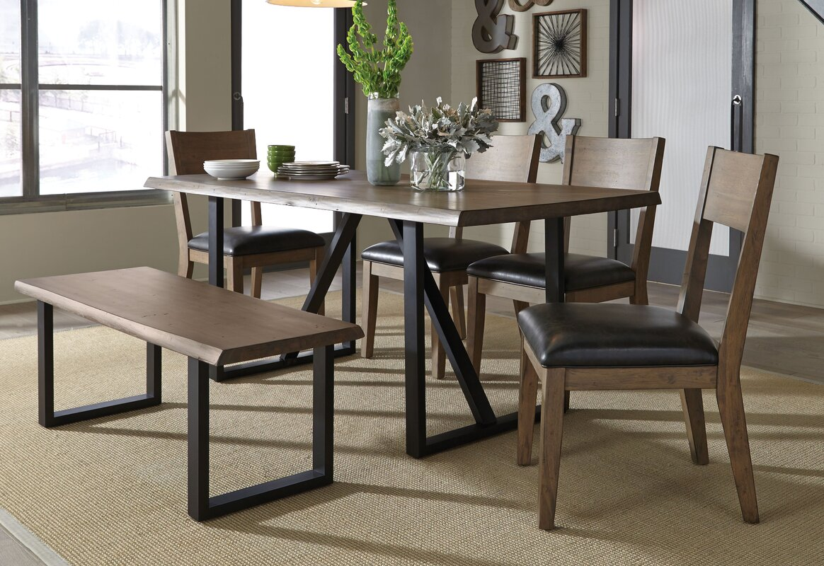 standard furniture sierra  piece dining set  reviews  wayfair - defaultname