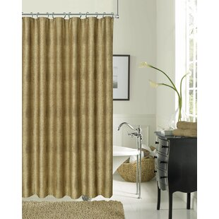 Bargain Drury Textured Shower Curtain By Everly Quinn