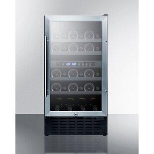28 Bottle Dual Zone Convertible Wine Cellar by Summit Appliance