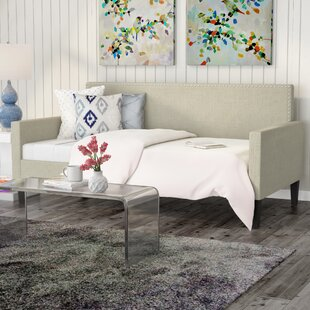 Compare prices Guizar Back Twin Daybed by Wrought Studio Reviews (2019) & Buyer's Guide