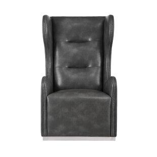 Club Swivel Wingback Chair