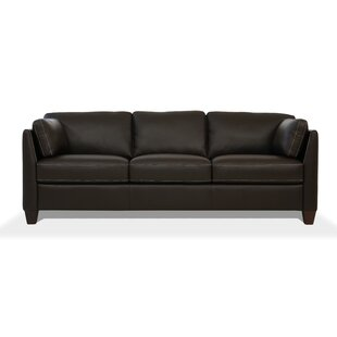 Shop Neace Leather Sofa by Latitude Run