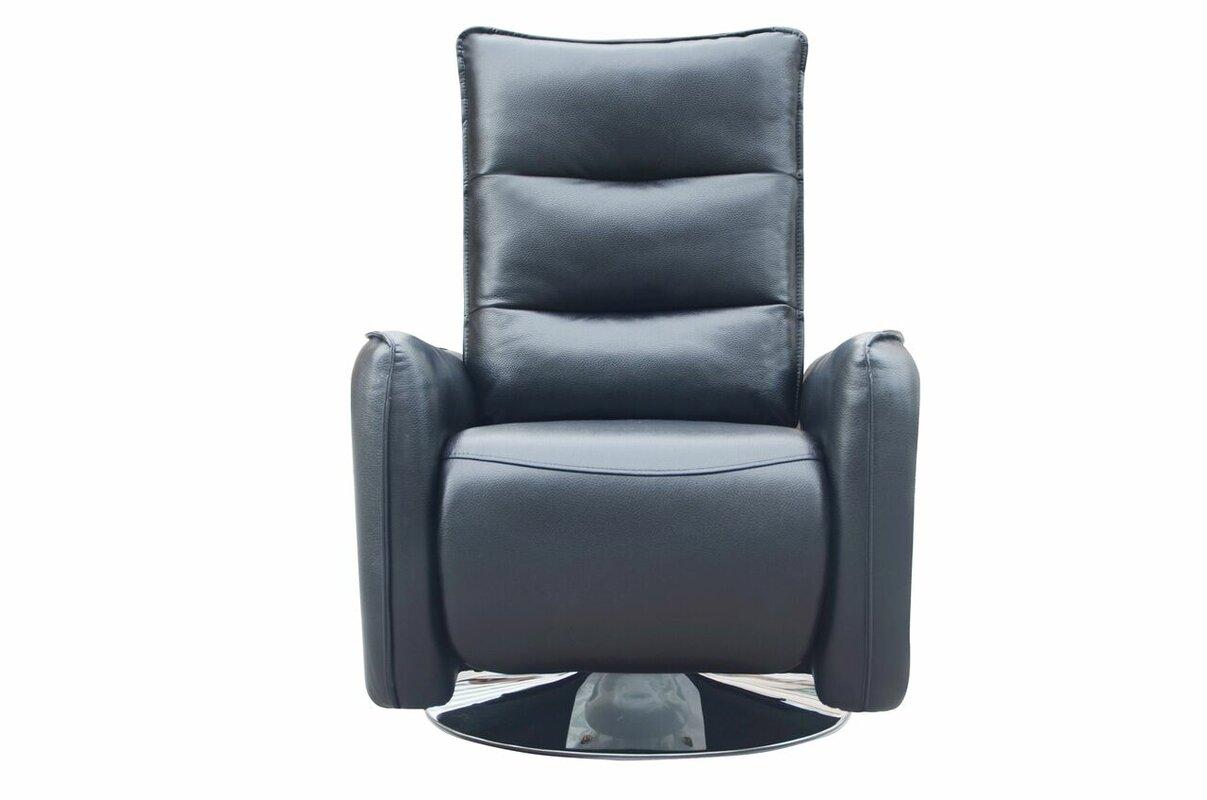 mcchesney modern manual swivel recliner. orren ellis mcchesney modern manual swivel recliner  reviews
