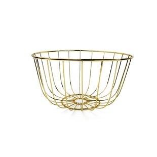 Modesto Metal Basket By Fairmont Park