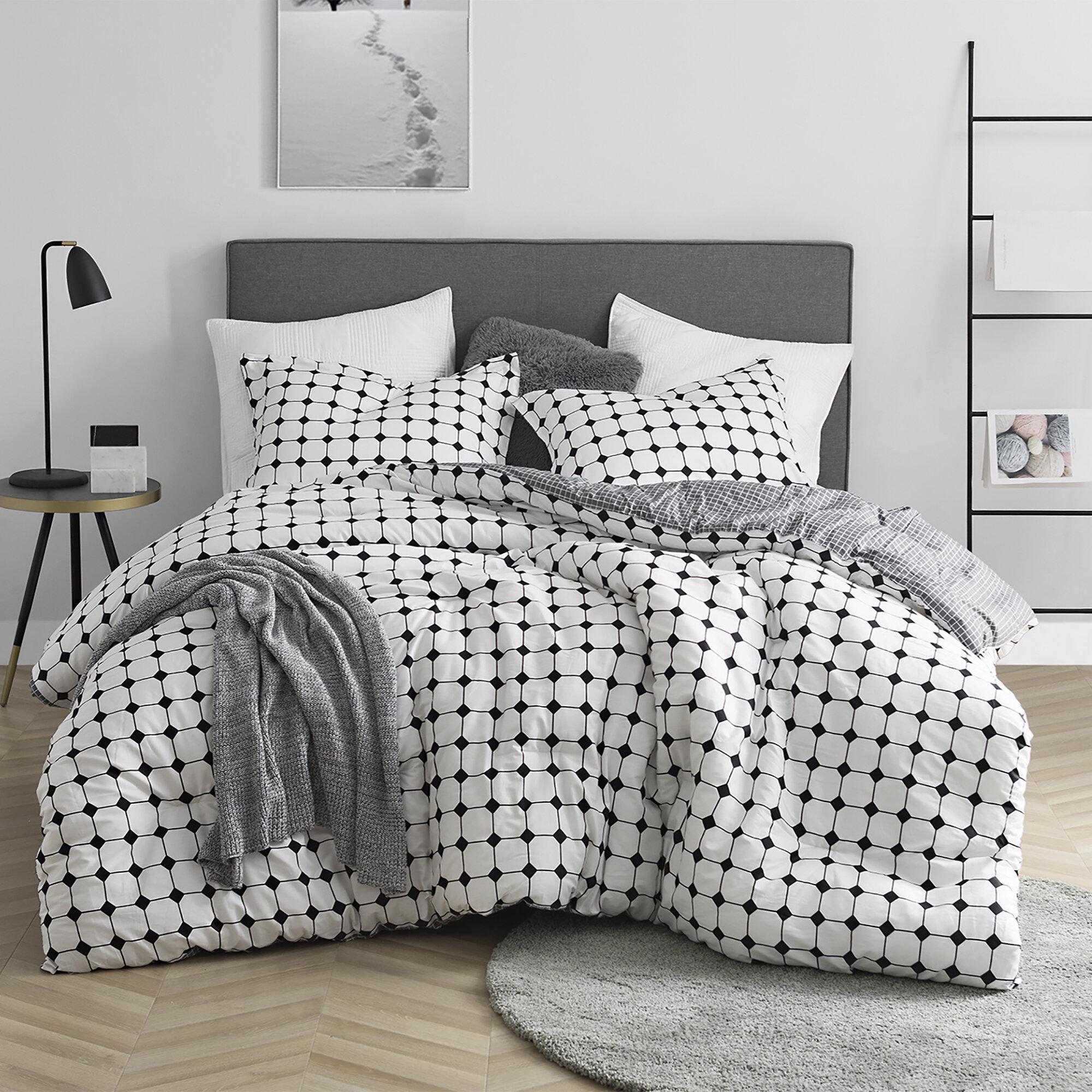 Orren Ellis Colinton Striped Comforter