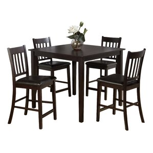 Marin Country Merlot 5 Piece Dining Table Set by Jofran
