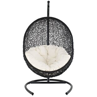 Modway Encase Swing Chair with Stand