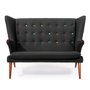 Bear Wegner Papa Wing Loveseat