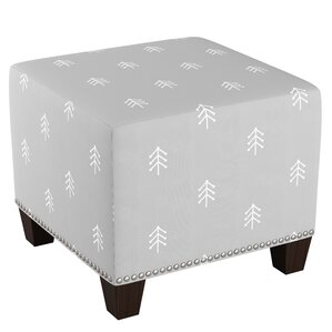 Lacie Nail Button Ottoman by Harriet Bee