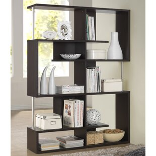Spicer Geometric Bookcase by Ebern Designs Great price