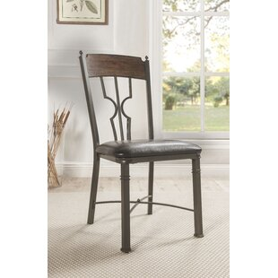 Timpson Upholstered Dining Chair (Set of 2) Fleur De Lis Living