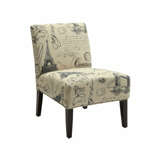 Hagler Slipper Chair by Breakwater Bay