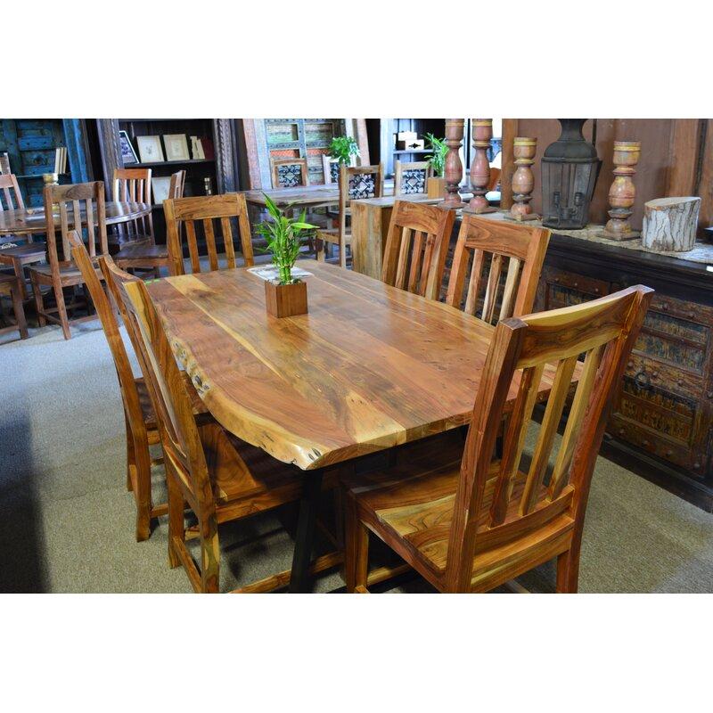 Union Rustic Ca Dining Table Wayfair