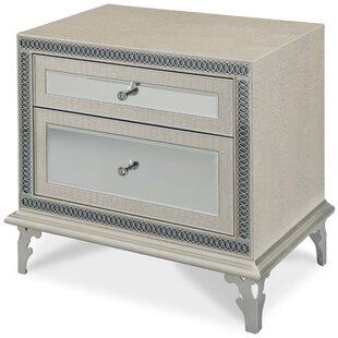 Hollywood Swank 2 Drawer Nightstand