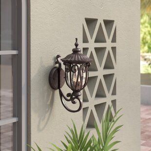 Inexpensive Devlin 3-Light Outdoor Sconce By Astoria Grand