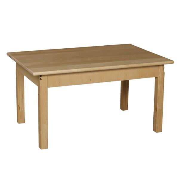 Wood designs 36 x 24 rectangular activity table reviews w - Construire table bois ...